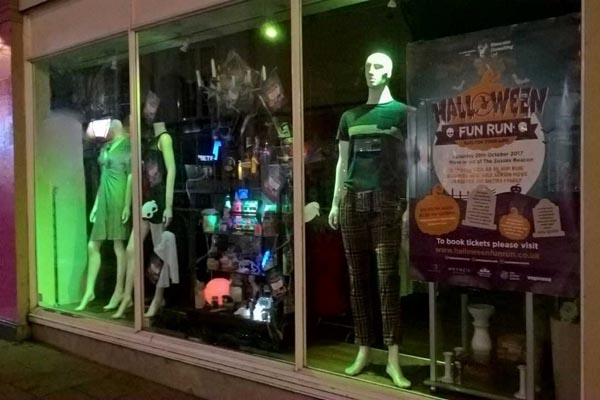 Sussex Beacon charity shops hold spooky secret Halloween auction