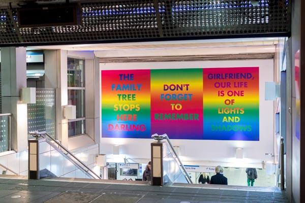 'Art on the underground' unveiled at Brixton Tube Station