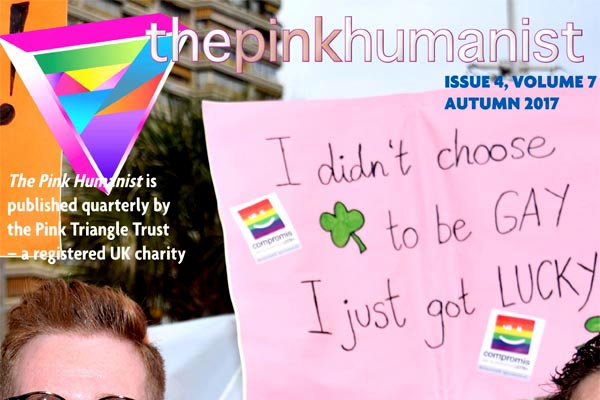 Autumn issue of Pink Humanist ready to download