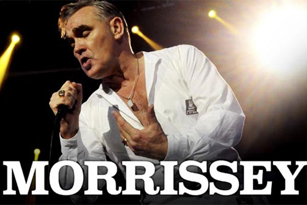 PREVIEW: Morrissey plays Brighton Centre in March, 2018