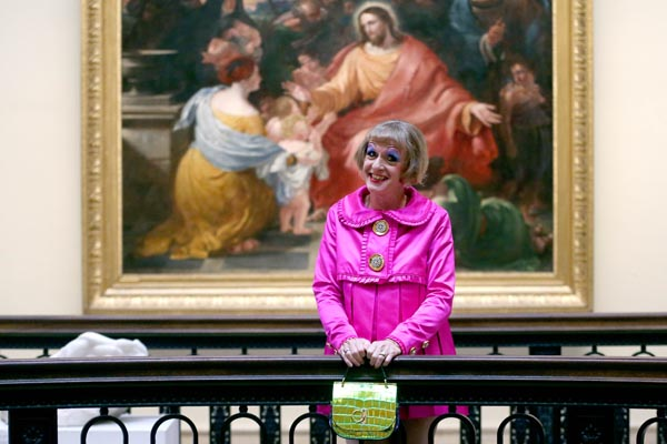 Grayson Perry's dresses go on show in Liverpool
