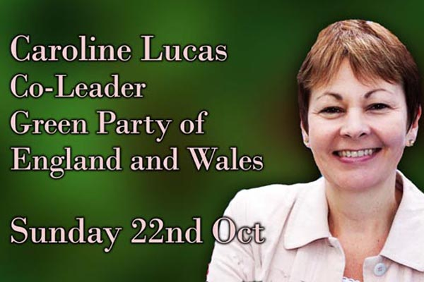 Green MP to speak at The Village MCC this Sunday