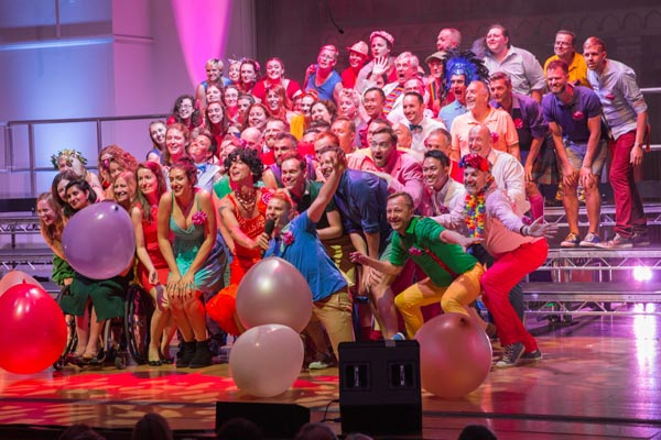 PREVIEW: Pink Singers to raise the roof on World AIDS Day