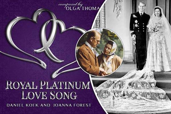 'Royal Platinum Love Song' celebrates Queen's Platinum wedding anniversary