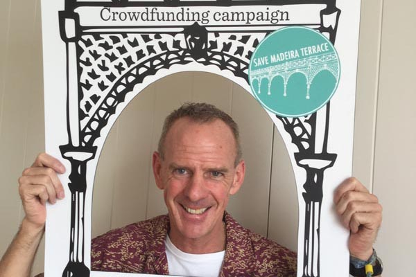 Norman Cook pledges support to Madeira Terrace crowdfunding campaign