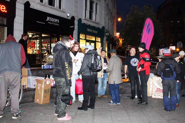 Christmas on the streets with MCC