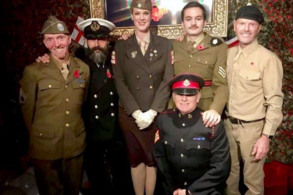 Bar Broadway raise £300 for Royal British Legion