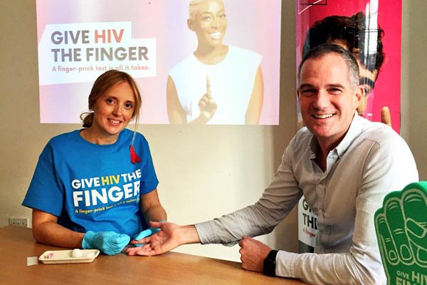 Local MPs take public HIV test during National HIV Testing Week