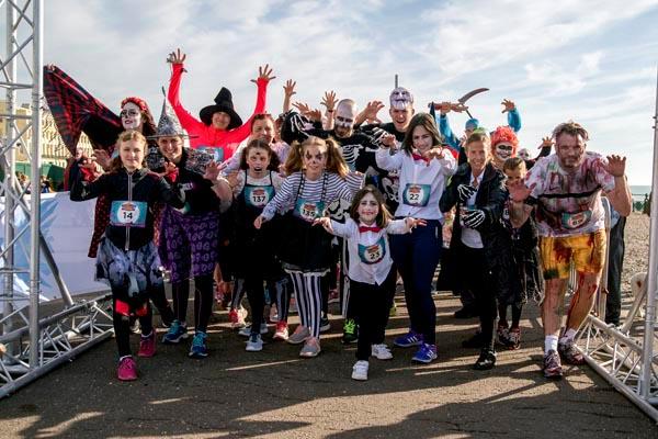 Halloween fun run raises over £850 for local HIV charity