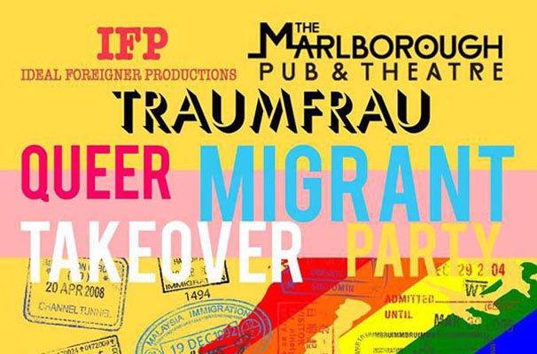 TRAUMFRAU: The queer migrant takeover party