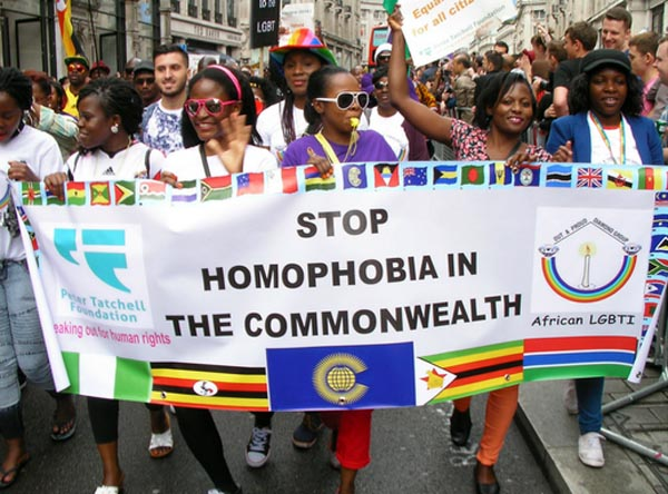 Tatchell bids for LGBT+ rights at Commonwealth summit