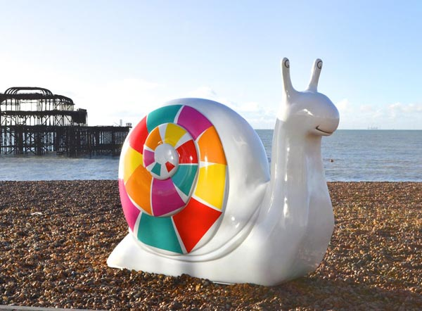 Sussex artists wanted for giant snails