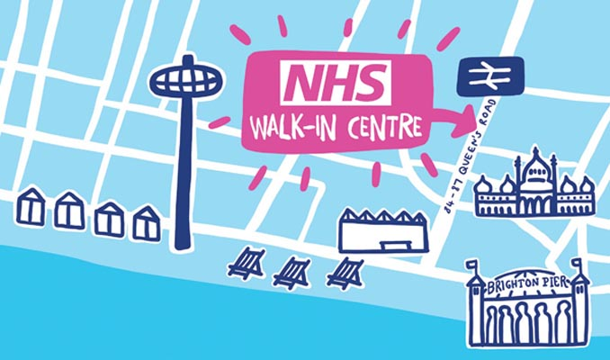 Use NHS Walk-in Centre at station to free up A&E this Xmas