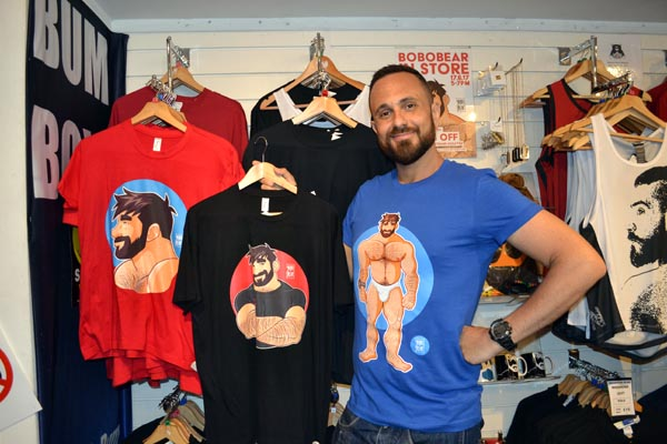 Brighton Bear Weekend 2018 logo launches at Prowler