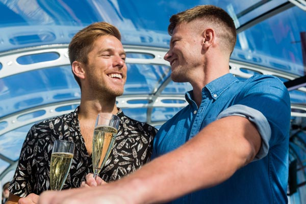 Celebrate with your Valentine high in the sky at British Airways i360