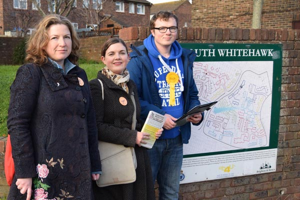 18-year-old to fight East Brighton by-election for Lib Dems