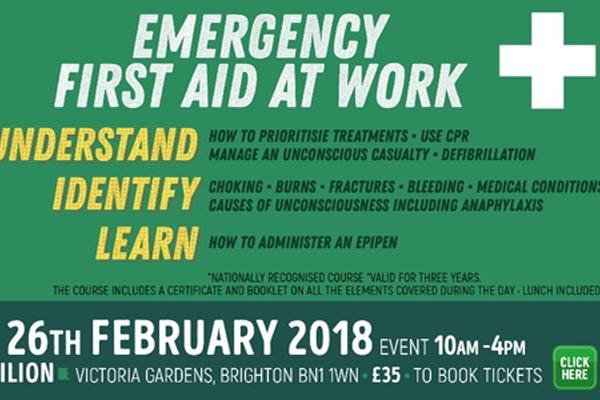 B RIGHT ON LGBT Community Festival: Emergency first aid workshops