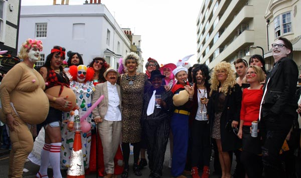 Bedford and Grosvenor link up for Easter Bonnet and Charity Drag Races