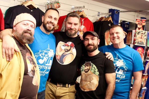 Bobo-Bear launches 2018 Brighton Bear Weekend t-shirts