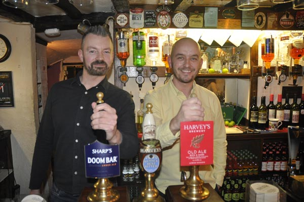 Who's the boss behind the bar @The Rottingdean Club