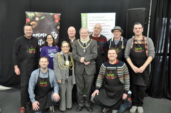 Community Lunch brings people together at B RIGHT ON LGBT Community Festival