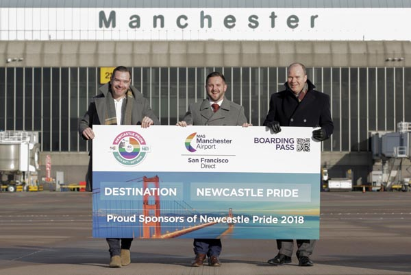 COMPETITION: Win a trip to San Francisco with Newcastle Pride and Manchester Airport
