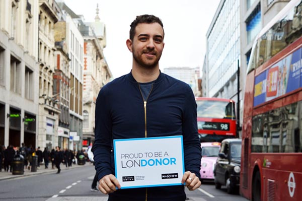 Anthony Nolan blood cancer charity launches new LonDONORS campaign