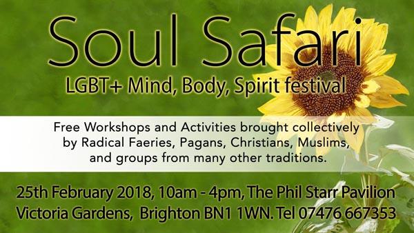 B RIGHT ON LGBT Community Festival: Soul Safari