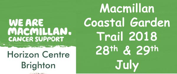 Open your garden this summer for Macmillan Cancer Support