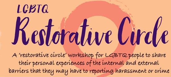 B RIGHT ON LGBT Community Festival: LGBT Restorative Circle
