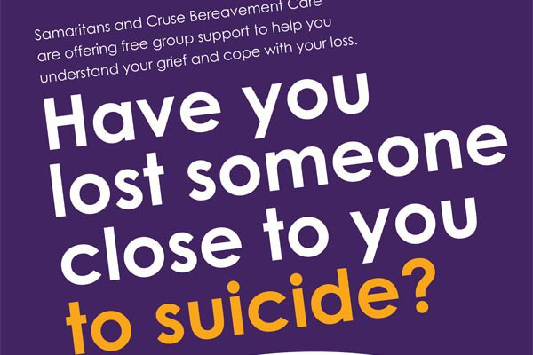 Been bereaved by suicide and need support?