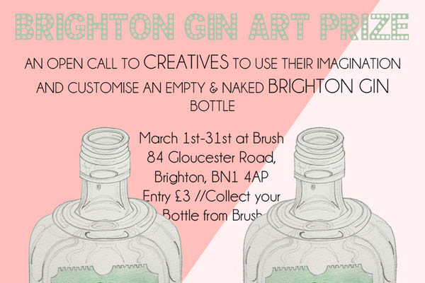Call for creatives as Brighton Gin launches art prize