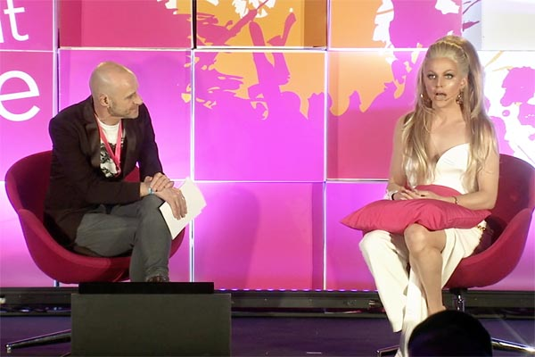 """""""Coming out at genderqueer liberated me"""", says Courtney Act"""