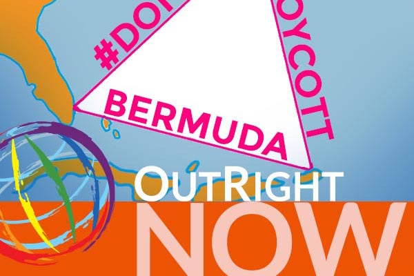 Outright Action International calls for people NOT to boycott Bermuda