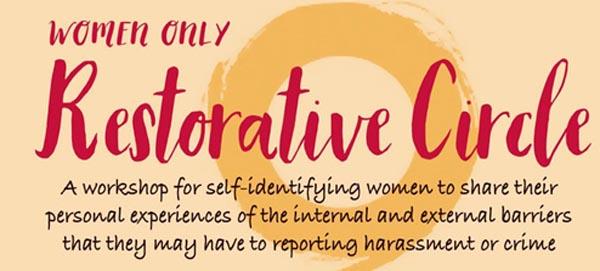 B RIGHT ON LGBT Community Festival: Women only Restorative Circle