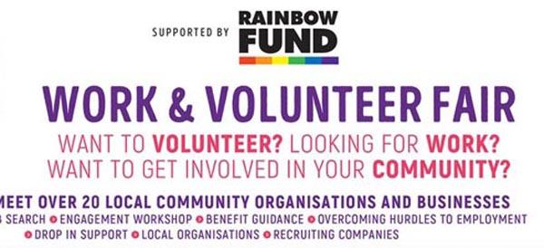 Today at B RIGHT ON LGBT Community Festival: LGBT Work & Volunteer Fair