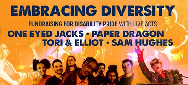 B RIGHT ON LGBT Community Festival: Disability Pride Band Night