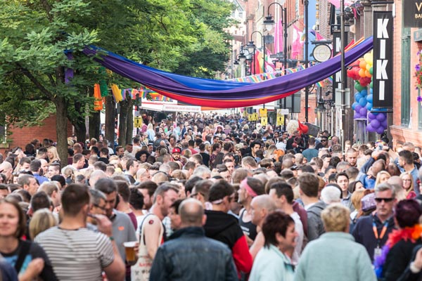 Manchester Pride celebrates acceptance as 'The Circus Comes To Town'