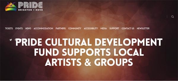 Pride launch new Cultural Development Fund