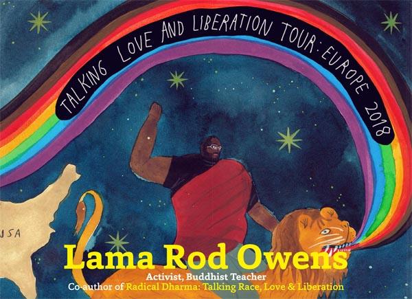 Radical Love! LGBT+ meditation with Lama Rod Owens