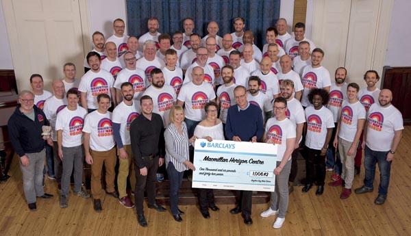 Brighton Gay Men's Chorus raise over £1,000 for local cancer support centre