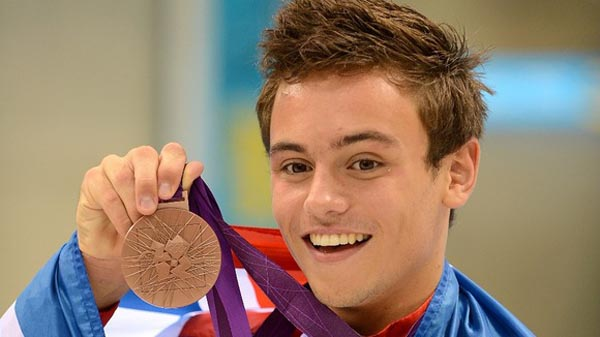 Tom Daley backs LGBT Commonwealth Protest