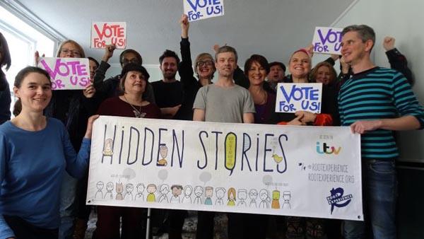 Hidden Stories project needs your votes