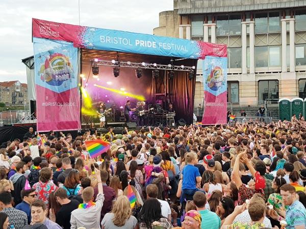 Unite Students return to sponsor Bristol Pride