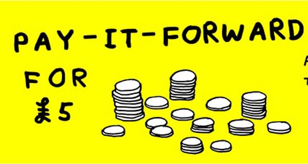 Brighton Festival support Celebrate UK Pay-It-Forward Day