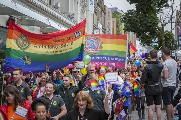 Youth Prom night with Newcastle Pride