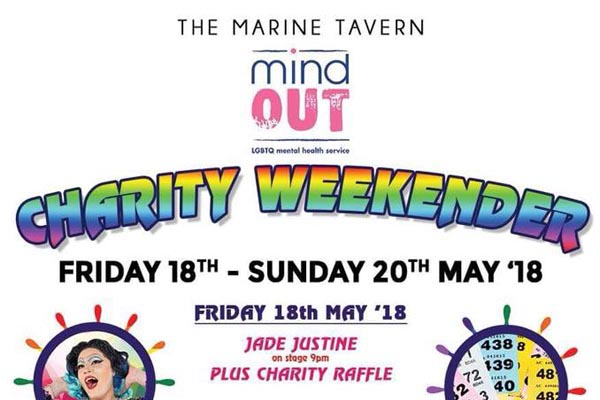 Marine Tavern fundraise for MindOut all weekend