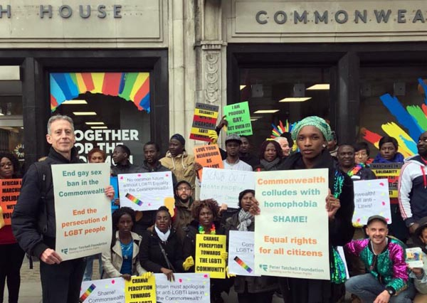 Peter Tatchell Foundation appeals for donations to continue Commonwealth Campaign