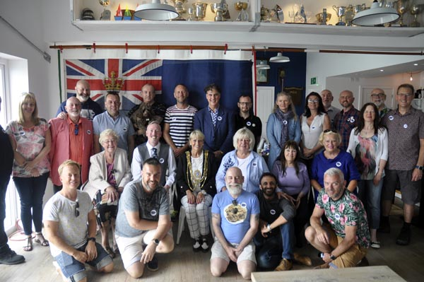 New Mayor of Brighton and Hove attends Bear-Patrol breakfast
