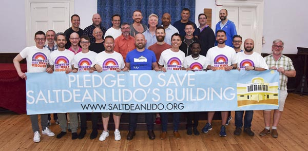 LGBT+ chorus support campaign to restore Saltdean Lido to former glory